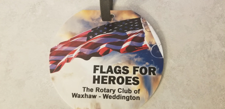 flags for heroes medallion